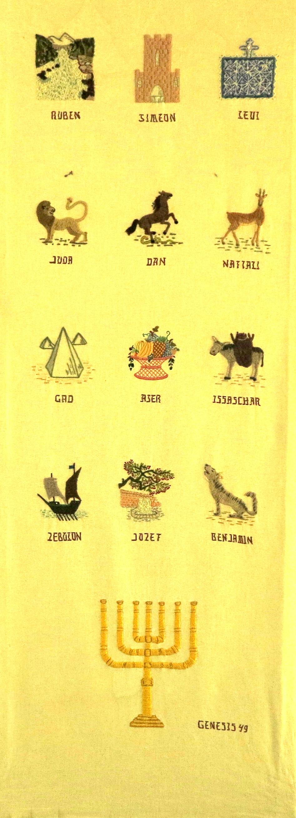 12 stammenbanier