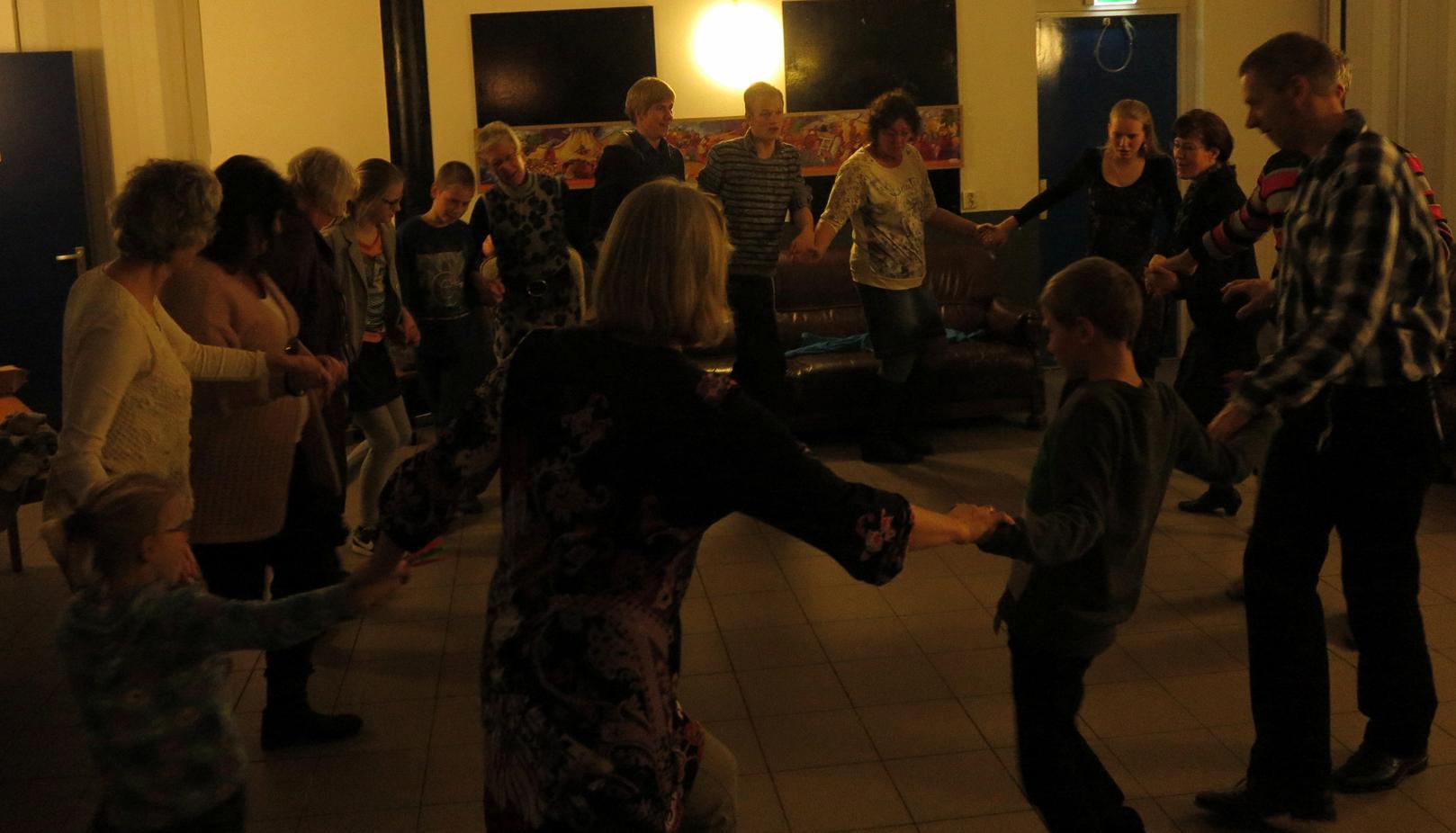 dansen met poerim